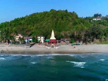 The young man from Sangli drowned in Ganpatipule | भोवऱ्यात अडकल्याने पर्यटनास आलेला तरुण गणपतीपुळेच्या समुद्रात बुडाला