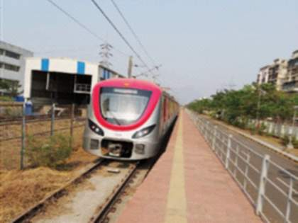 Navi Mumbaikars also travel by Metro from December | नवी मुंबईकरांचाहीप्रवास डिसेंबरपासून मेट्रोमधून