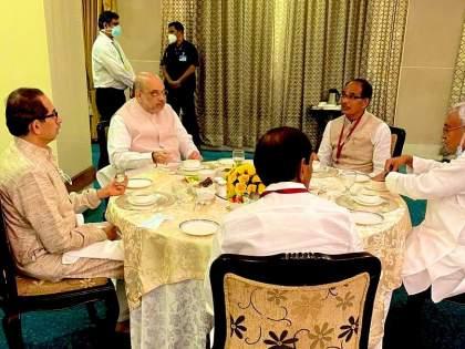 Sanjay Raut's statement and CM uddhav thackeray lunch with Amit Shah in Delhi | संजय राऊतांचं 'ते' विधान अन् उद्धव ठाकरेंचा दिल्लीत अमित शहांसोबत 'लंच'