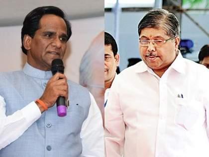 'Chandrakant Patil and Raosaheb Danvech are likely to join Shiv Sena', jayant patil | 'चंद्रकांत पाटील अन् रावसाहेब दानवेच शिवसेनेत येण्याची शक्यता'