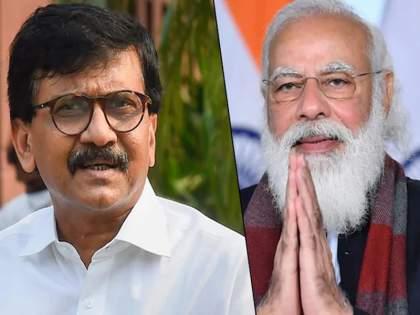 Narendra Modi praised by the country's top leader, Sanjay Raut in jalgaon | नरेंद्र मोदी देशातील सर्वात मोठे नेते, संजय राऊतांकडून कौतुक