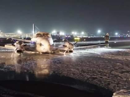 The vigilance of the systems, the pilot's foresight prevented a major accident   विशेष मुलाखत : यंत्रणांची सतर्कता, वैमानिकाच्या प्रसंगावधानामुळेच टळला मोठा अपघात