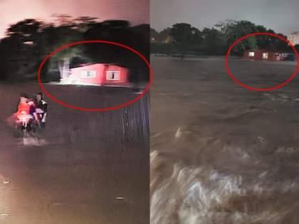 Mumbai Rain : The former MLA Pandurang barora saved the family with the help of a rope in the middle of the night rain | Mumbai Rain : वाचवा वाचवा... माजी आमदाराने मध्यरात्री दोरीच्या सहाय्याने कुटुंबाला वाचवले