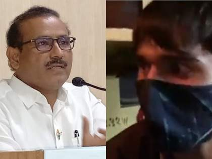 Video : 'The boy goes to the exam at a cost of Rs.500, health dept exam cancelled, student become angry | Video : 'लेकरू 500 रुपये खर्चून परीक्षेला जातंय, तिकडं माय 150 रु रोजानं शेतात जातीय'