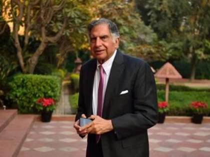 Ratan Tata's share emotional pic of rain in mumbai Taj Hotel staff, special photo shared | संवेदनशील टाटांना भावला 'ताज' हॉटेलमधील कर्मचारी, खास फोटो केला शेअर