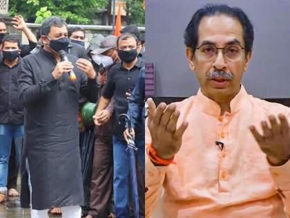 'I too will settle the demands of Sambhaji Raje, CM uddhav thackeray on maratha reservation   Maratha Reservation : 'मी देखील आंदोलन करणाऱ्या पक्षाचा नेता, संभाजीराजेंनी मांडलेल्या मुद्द्यांवर तोडगा काढू'