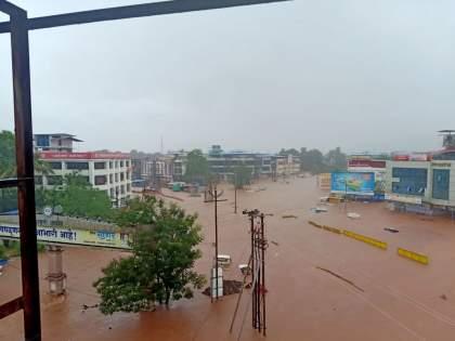 konkan even today there is a red alert of rain 72 people are trapped in raigad | कोकणात हाहाकार; आजही पावसाचा रेड अलर्ट, रायगडमध्ये दरडीखाली ७२ अडकले?