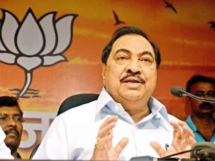 Bihar Election 2020: Eknath Khadse issue to be raised in Bihar; Opposition will trap BJP over OBC   Bihar Election 2020: बिहारमध्ये एकनाथ खडसेंचा मुद्दा गाजणार; विरोधक भाजपाला कोंडीत पकडणार