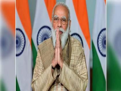 Bihar Election 2020: BJP pierces image of Prime Minister Narendra Modi; Shiv Sena target | Bihar Election 2020: भाजपाकडूनच पंतप्रधान नरेंद्र मोदींच्या प्रतिमेला छेद देण्याचा प्रकार; शिवसेनेचा निशाणा