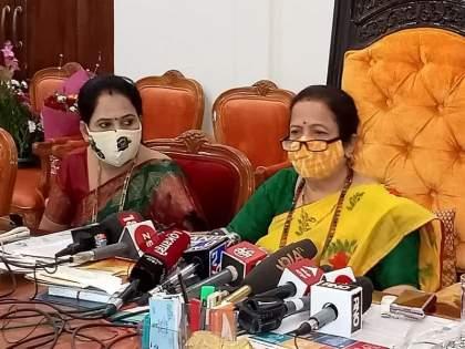 BJP woman corporator molestation case; The mayor met the deputy commissioner of police   भाजप कार्यकर्ती विनयभंग प्रकरण; महापौरांनी घेतली पोलीस उपायुक्तांची भेट