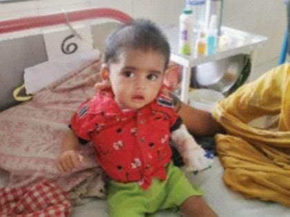 Seven month old boy Successful fight with tumor and corona   सात महिन्यांच्या बाळाची कोविडसह ट्युमरशी यशस्वी झुंज