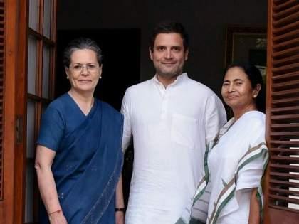 West bengal CM Mamata Banerjee meets congress president Sonia Gandhi and Rahul Gandhi also in delhi | ममतांनी घेतली सोनिया गांधींची भेट; 'या' मोठ्या मुद्यांवर झाली चर्चा; राहुल गांधीही होते उपस्थित