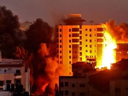 Israeli airstrikes kill 43 in Gaza Strip | इस्रायलच्या हवाई हल्ल्यात गाझा पट्टीत ४३ जण ठार