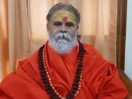 Narendra Giri called rope through the disciple for execution   नरेंद्र गिरी यांनी फाशीसाठी शिष्याहाती मागवली दोरी