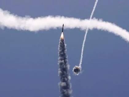 Israel's response to Hamas missiles; 1,000 bombs dropped in the air | हमासने डागलेल्या क्षेपणास्त्रांना इस्रायलचं चोख प्रत्युत्तर; १,००० बॉम्ब हवेतच परतवून लावले...