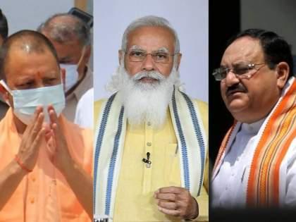 Bjp puts to rest speculation in Uttar pradesh yogi adityanath to stay | योगीच राहणार...! भाजपकडून चर्चांना पूर्णविराम; सांगितलं- बैठकांमागचं नेमकं कारण