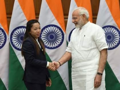 Tokyo olympics Mirabai Chanu success in olympics will inspire everyone PM Narendra Modi and president Ramnath Kovind congratulated   Tokyo Olympics : संपूर्ण देशात मीराबाई चानूच्या नावाचाच डंका; जाणून घ्या, काय म्हणाले PM मोदी