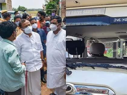 Union minister V Muraleedharan convoy attacked eight arrested and three policemen suspended   केंद्रीय मंत्री मुरलीधरन यांच्या तफ्यावरील हल्ला प्रकरण; 8 जणांना अटक; 3 पोलीस कर्मचारी निलंबित