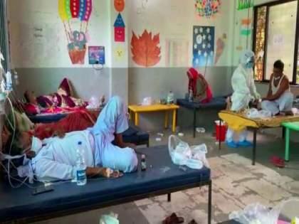 Maharashtra Coronavirus; 4 Friends In Beed Prepared 50 bed Covid Care Center In Their Village | Coronavirus: सरकारी मदतीची वाट न पाहता ४ मित्रांनी उभारलं ५० बेड्सचं कोविड सेंटर; 'No Profit-No Loss' संकल्पना