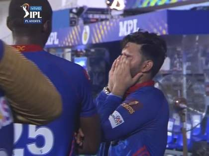 IPL 2021, KKR vs DC Qualifier 2 Live Updates : Rishab Pant is unable to hold his emotions, Watch Video | IPL 2021, KKR In Final: पराभव जिव्हारी लागला; रिषभ पंत, पृथ्वी शॉ यांना भावना अनावर झाल्या, Video
