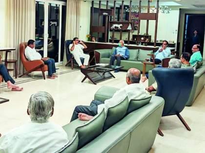 CoronaVirus in Nagpur: Gadkari reviews Help work | CoronaVirus in Nagpur : गडकरींनी घेतला मदतकार्याचा आढावा