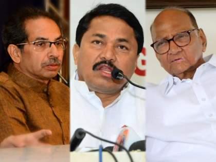 "Maharashtra Politics: After Shiv Sena, NCP also warns Congress over own way fight in election   मोठी बातमी! शिवसेनेपाठोपाठ राष्ट्रवादीचाही काँग्रेसला सूचक इशारा: ""स्वबळावर ठाम राहिलात तर..."""