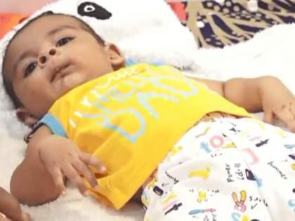 people donate rs 16 crore for five month child who needs most expensive drug   सलाम! ५ महिन्यांच्या बाळावर यशस्वी उपचार; चिमुकल्या जीवासाठी १६ कोटींचे महादान