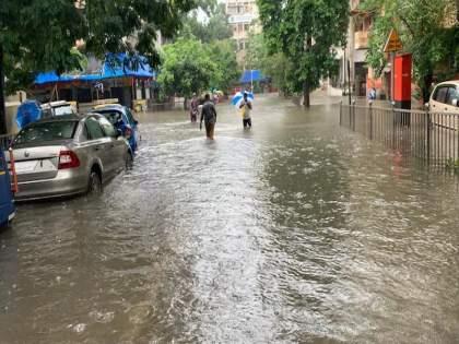 Mumbai city and suburbs have received an average rainfall of 70 mm in the last 24 hours   Mumbai Rain Updates: मुंबईत पावसाची सत्तरी; आजही धोका कायम, मुंबई अन् कोकण किनारपट्टीवर ऑरेंज अलर्ट