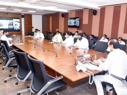 When asked why Deshmukh was not invited, Ajit Pawar gave a sigh of relief to the BJP House leader   देशमुखांना का निमंत्रण नाही, असे विचारताच अजितदादांनी दिली भाजपच्या सभागृह नेत्याला तंबी