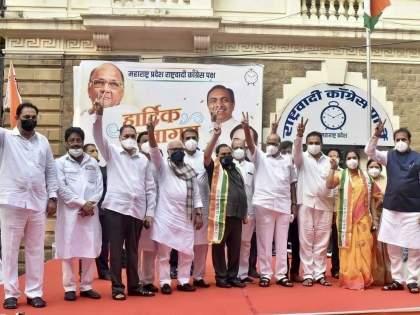 Minister Dilip Walse Patil infected with corona; Present was Eknath Khadse NCP Entry Programme   मंत्री दिलीप वळसे पाटील यांना कोरोनाची लागण; खडसेंच्या पक्षप्रवेश सोहळ्याला होते उपस्थित