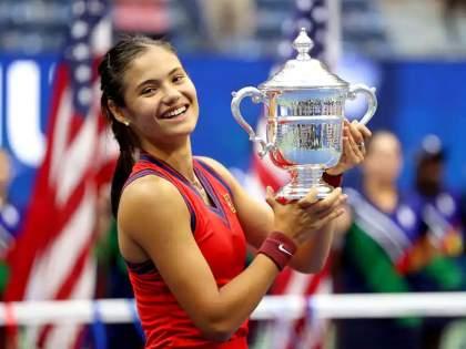 emma raducanu won the historic Grand Slam title pdc   'अमेरिकन ओपन'ला मिळाली नवी सम्राज्ञी! एम्मा राडूकानूला ग्रॅण्डस्लॅमचे ऐतिहासिक विजेतेपद