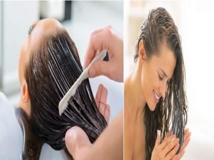 Honey and Coconut oil; best home remedy for hair in summer   फक्त हे दोन पदार्थ वापरा; उन्हाळ्यातील चिकट केस अन् केसगळती विसरा