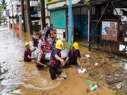 Heavy Rain: Rain, cloudburst, floods and landslides in three states | Heavy Rain: पाऊस-ढगफुटी-पूर आणि भूस्खलनामुळे तीन राज्यात हाहाकार