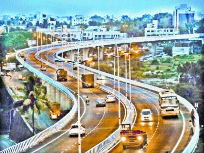 Shiv Sena - BJP's controversy finally ends; Naming of Ghatkopar-Mankhurd bridge as 'Chhatrapati Shivaji Maharaj Flyover' | शिवसेना - भाजपच्या वादावर अखेर पडदा; घाटकोपर-मानखुर्द पुलाचे 'छत्रपती शिवाजी महाराज उड्डाणपूल' नामकरण