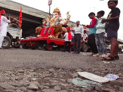 The journey of millions of Ganesha devotees on the decision of the government | लाखो गणेशभक्तांचा प्रवास राज्य सरकारच्या पुढील निर्णयावर अवलंबून