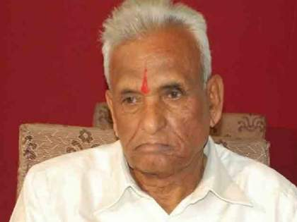"Ganpatrao Deshmukh Death: NCP leader Jayant Patil pay homage to Ganpatrao Deshmukh | Ganpatrao Deshmukh Death: ""महाराष्ट्राच्या राजकारणातील भीष्म पितामह हरपला"""