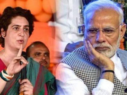 "prime minister and chief minister made up number one in malnutrition Priyanka Gandhi taunt   ""डबल इंजिनची फसवाफसवी! पंतप्रधान व मुख्यमंत्र्यांनी उत्तर प्रदेशला कुपोषणात नंबर वन बनवलं"""