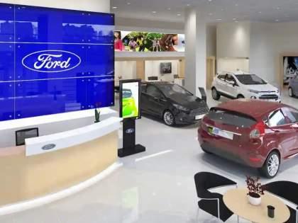 Ford Exit: Are cars available? Ford never got that much call in History; Queues of vehicles also at the service center   Ford Exit: कार आहेत का? फोर्डला कधी नव्हे तो तुफान प्रतिसाद; सर्व्हिस सेंटरवरही वाहनांच्या रांगा