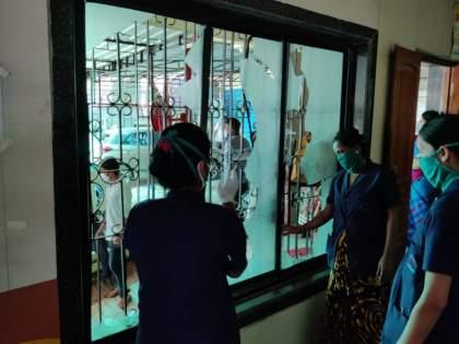 Vandalism at Shah Hospital due to change of body; Anger among relatives, incident in Yavatmal | मृतदेह बदलल्याने शहा हाॅस्पिटलमध्ये तोडफोड; नातेवाईकांमध्ये संताप, यवतमाळमधीलघटना