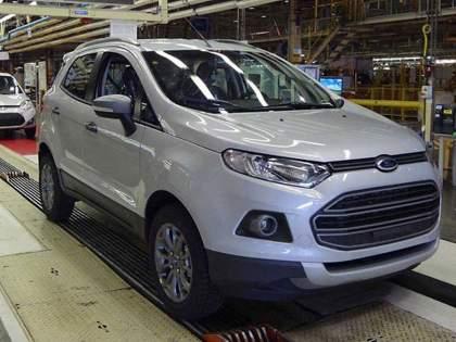 Ford India restarts EcoSport production in Chennai plant for exports: reports   FORD Ecosport चे उत्पादन चेन्नई प्लांटमध्ये पुन्हा सुरु झाले; हे आहे कारण...
