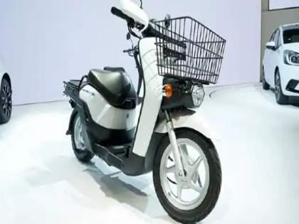 honda benly e electric scooter possibly to launch soon spotted testing know more features and range | Honda जबरदस्त Electric Scooter आणण्याच्या तयारीत; उत्तम रेंज, ड्युअल बॅटरीसह मिळणार भन्नाट फीचर्स