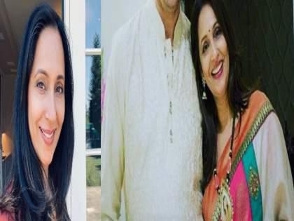 ashwini bhave husband pictures   अश्विनी भावे कुटुंबासोबत राहातात अमेरिकेत, नवरा आहे खूपच हँडसम