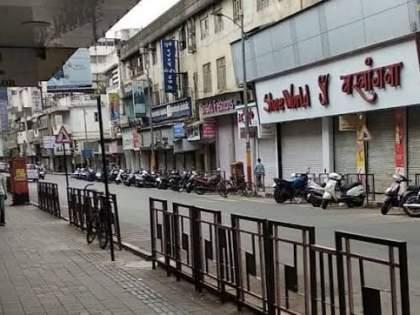 Merchant aggressive in Pune; If the restrictions are not reduced within 2 days, the shops will continue till 7 from Wednesday   पुण्यातील व्यापारी आक्रमक; २ दिवसांत निर्बंध कमी न केल्यास बुधवारपासून दुकाने ७ पर्यंत सुरु ठेवणार