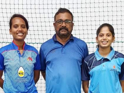 Vasai-Virar's two girls selected for India's Under-19 cricket team   वसई-विरारच्या दोन मुलींची 19 वर्षाखालील क्रिकेट संघात निवड