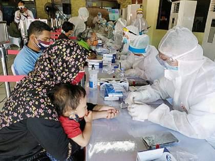 Indonesia: Corona's third wave begins? More than 150 patients died in one week   Indonesia: कोरोनाच्या तिसऱ्या लाटेला सुरुवात ? एका आठवड्यात 150 पेक्षा जास्त लहान मुलांचा मृत्यू