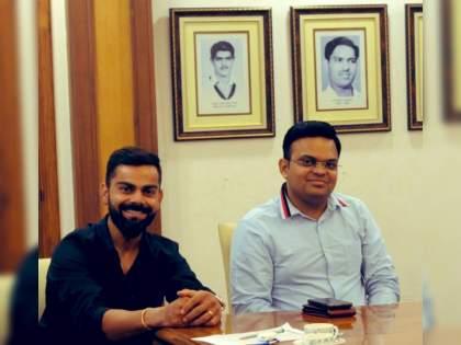 Thanks Virat Kohli for your contribution as the Team India captain, secretary Jay Shah and other BCCI member react virat decision | अफवा म्हणणाऱ्या बीसीसीआयचा सूर बदलला; विराट कोहलीच्या निर्णयानंतर जय शाह सह इतरांकडून आल्या प्रतिक्रिया