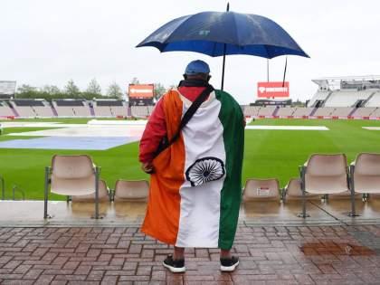 WTC Final 2021 IND vs NZ : first day's play cancelled due to rain   WTC Final 2021 IND vs NZ : पावसामुळे पहिल्या दिवसाचा खेळ रद्द; आता सहाव्या दिवशीही होणार खेळ