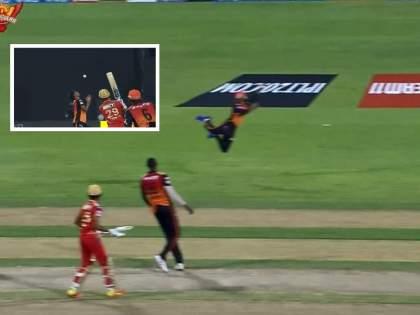 IPL 2021, SRH vs PBKS Live Updates : J Suchith's one-handed stunner and Sandeep sharma's perfect catch, Watch Video   IPL 2021, SRH vs PBKS Live Updates : Catch Win Match!; जे सुचिथ व संदीप शर्मा यांच्या अफलातून झेलनी पंजाब किंग्सची वाट लावली, Video