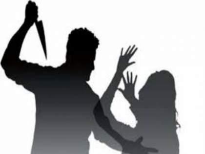 Shocking type in Khed taluka! The 75-year-old father-in-law attacked a women   खेड तालुक्यातील धक्कादायक प्रकार! ७५ वर्षांच्या सासऱ्याने सुनेवर केले सपासप वार
