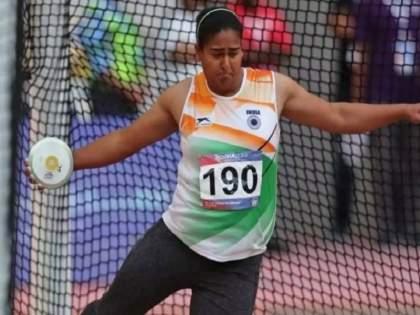 Tokyo Olympics 2020: India's Kamalpreet Kaur's 'Maximum' Performance; Hit in the final of the Discus Throw | Tokyo Olympics 2020: भारताच्या कमलप्रीत कौरची 'कमाल' कामगिरी; 'डिस्कस थ्रो'च्या अंतिम फेरीत धडक